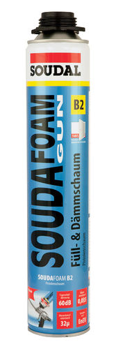 SOUDAL Montageschaum Souda foam B2 Version Gun 1K 750 ml 100855